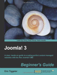 Tiggeler, Eric (2013) Joomla! 3: Beginner's Guide Birmingham: Packt Publishing