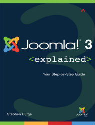 Burge, Stephen (2014) Joomla! 3 Explained: Your Step to Step Guide Boston, USA: Pearson Education