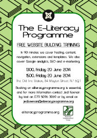 E-Literacy Programme Holloway Neighbourhood Group June 2014