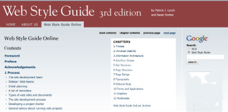 Web Style Guide, 3rd Edition